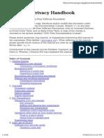 Gnu Privacy Handbook