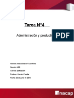 Tarea n4 de Administración