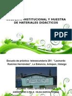 Coloquio Institucional y Muestra de Materiales Didácticos