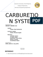 Carburetion System