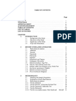 5. Table of Contents