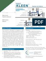 Component Gen-Kleen Spec Sheet