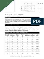 Flange Spec Sheet 3-18-09