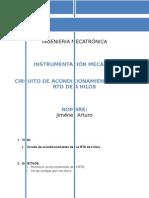 Arturo Jmenez Consulta Acondicionamiento Ldr