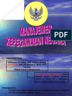 Manajemn Kepegawaian Negara Versi Pak Amril