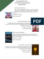 210 pathfinder published book list