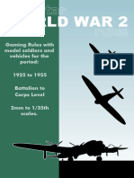 WW2 Rules - Gaming Rules 1925 to 1955 - Alienstar Publishing