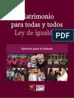 Trans Libro Matrimonio Igualitario