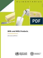CODEX Milk and Milk Product