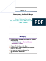 Damping Buildings Lecture