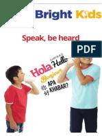 Bright Kids - 7 July 2015