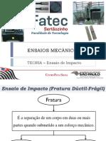 Ensaios Mecânicos - Impacto