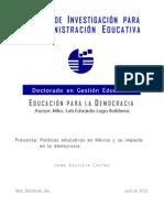 Educación para la democracia