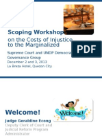 Cost of Injustice for the Marginalized.ppt