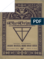AMORC - The Triangle September 1923