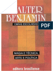 Magia e Tecnica Arte e Politica - Walter Benjamin