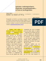 Anarquismo Contemporaneo, Pós-Anarquismo e Neo-Anarquismo
