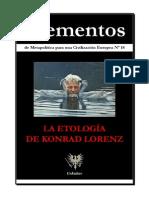 Konrad Lorenz Elementos Nº 18