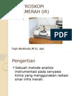 Spektroskopi Inframerah (Ir)