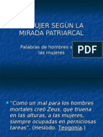 La Mujer Segun La Mirada Patriarcal[1]. Azul
