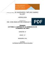 LA  HIDRAULICA  DE LEONARDO  DA  VINCI.docx