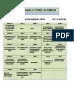Cronograma Abril - Nancy Modificado