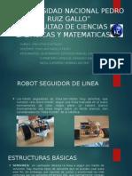 Diapositivas Robot Seguidor de Línea