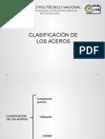 Clasificación de Aceros-A