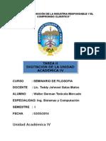 TAREA II SEMINARIO FILOSOFIA  INGINERIA  CICLO I.doc