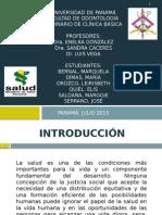 Políticas de Salud Panamá 2010-2015