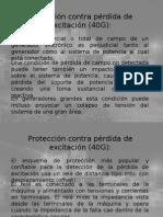 Protecciones de Generador Parte 5