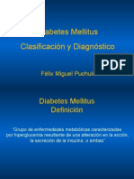 Clasificacion y  Diagnostico de DM2