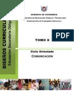Diseño Curricular- Comunicacion