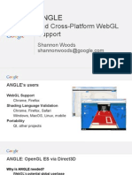 ANGLE and Cross-Platform WebGL Support