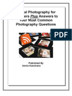Digital Photography for Bloggers Plus Answers to Your Most Common Photography Questions