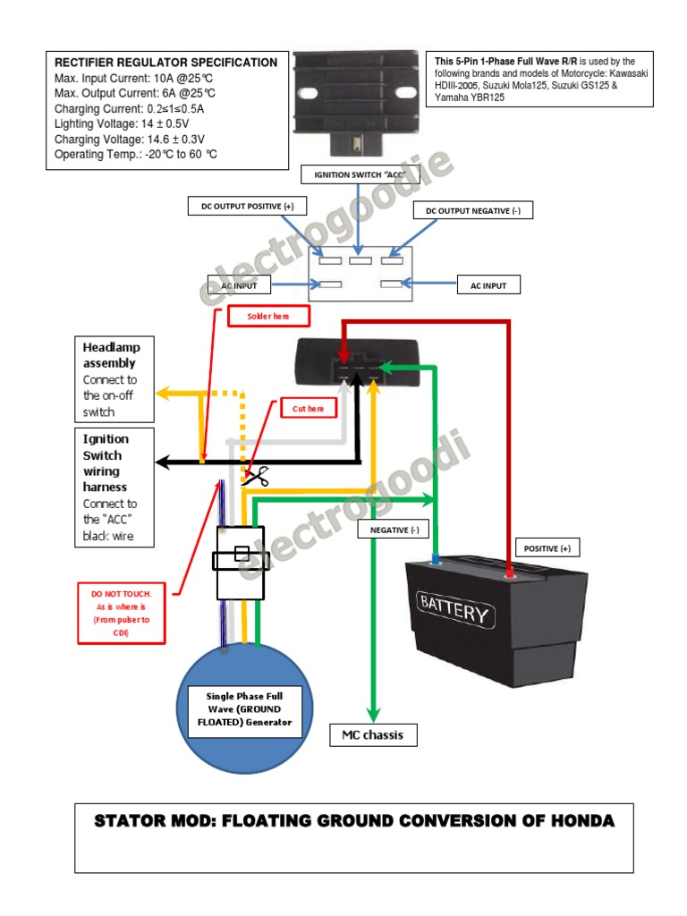 1512227429?v=1 stator mod floating ground honda wave100 xrm110 solder rectifier honda wave 100 wiring diagram pdf at reclaimingppi.co