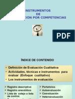 Evaluacion Por Competencias Instrumentos