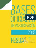 Bases FESDA 2015