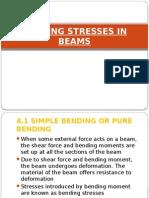 bending stresses in beam