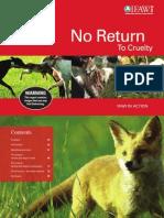 "IFAW U.K. - ""No Return To Cruelty"""
