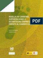 Huella de Carbono-exportaciones