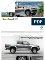 Catalogo Especificaciones Camioneta Amarok 2011 4x2 4x4 Startline Highline