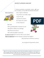 Classes de 1ère primaire