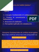 1.-Generalidades en Catálisis.