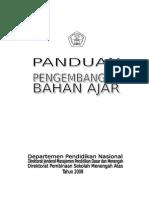 Panduan Pengembangan Bahan Pelajaran(1)