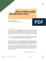 Acidentes e Complicações Em Anestesia Local