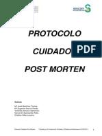 Protocolo Cuidado Postmortem