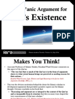 The Quranic Argument for Gods Existence 1.0 July 2014-Libre