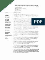 Lehigh Co GOP Letter (Feb 2010)