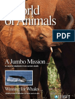 "International Fund for Animal Welfare's - ""World of Animals"" - Issue 2"